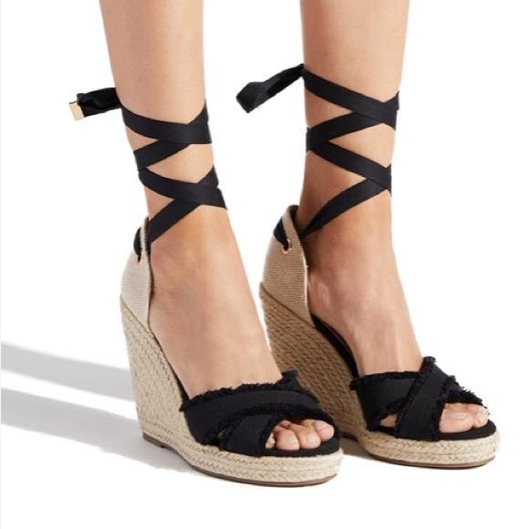 ca56a119f9b lace up espadrille heels